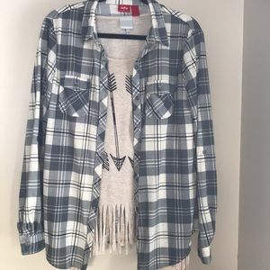 Daytrip Buckle plaid flannel shirt